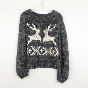 Free People Dancer and Prancer Sweater